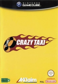 Crazy Taxi [FR][NL] Box Art
