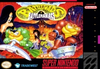Battletoads in Battlemaniacs Box Art