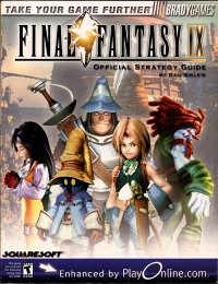 Final Fantasy IX - Official Strategy Guide Box Art