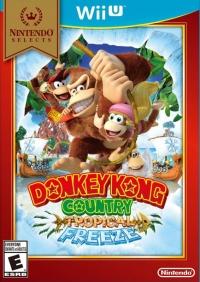 Donkey Kong Country: Tropical Freeze - Nintendo Selects Box Art