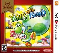 Yoshi's New Island - Nintendo Selects Box Art