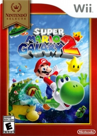 Super Mario Galaxy 2 - Nintendo Selects Box Art