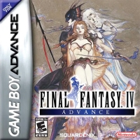 Final Fantasy IV Advance Box Art