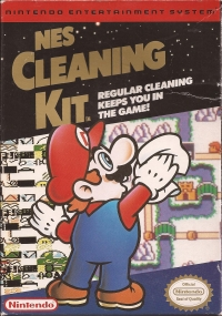 NES Cleaning Kit (Mario) Box Art