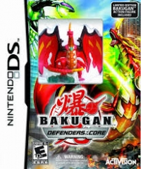 Bakugan Defenders of the Core - Limited Edition Box Art