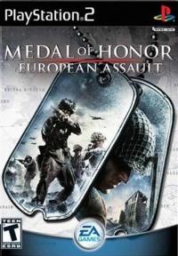 Medal of Honor: European Assault Box Art