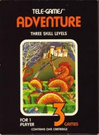 Adventure (Sears Text Label) Box Art