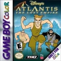 Disney's Atlantis: The Lost Empire Box Art