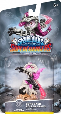 Bone Bash Roller Brawl - Skylanders: SuperChargers [NA] Box Art