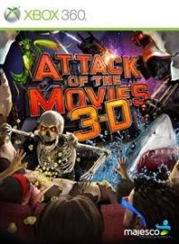 Attack of the Movies 3-D (lenticular cover) Box Art