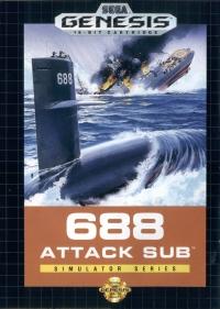 688 Attack Sub Box Art