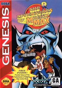 Adventures of Mighty Max, The (VRC) Box Art