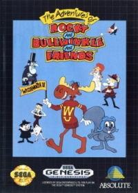 Adventures of Rocky and Bullwinkle and Friends, The Box Art