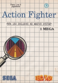 Action Fighter (Bold Address) Box Art