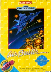 Air Buster Box Art