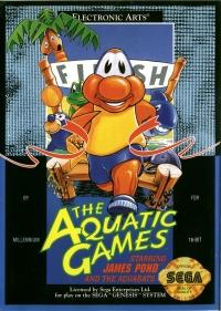 Aquatic Games starring James Pond and the Aquabats, The Box Art