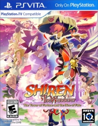 Shiren the Wanderer: The Tower of Fortune and the Dice of Fate Box Art