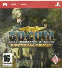 SOCOM: U.S. Navy SEALs: Fireteam Bravo - Promo Only (Not for Resale) Box Art